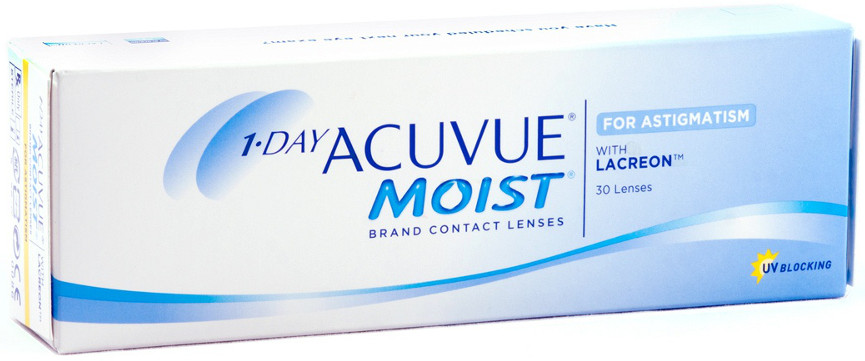 1-Day Acuvue Moist for Astigmatism №30